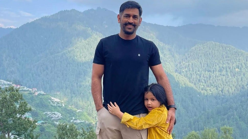 IPL 2021: 'New look' MS Dhoni enjoys vacation at picturesque location with daughter Ziva