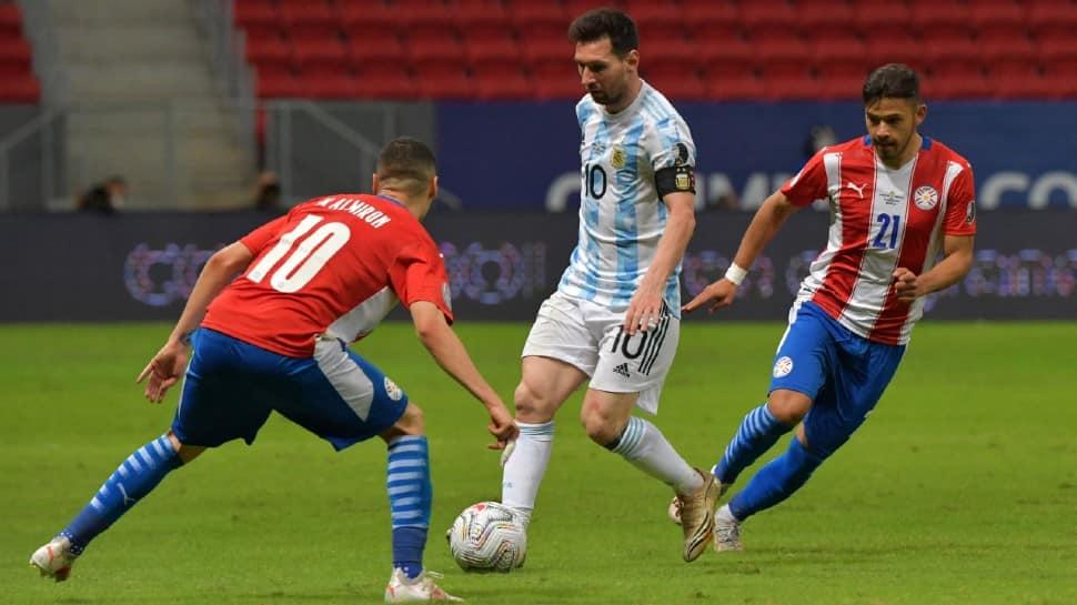 Copa America: Record-breaking Messi magic floors Paraguay, Watch video