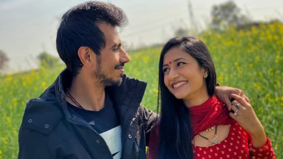 Yuzvendra Chahal shares lovey-dovey message for wife Dhanashree Verma on their six-month anniversary – check out