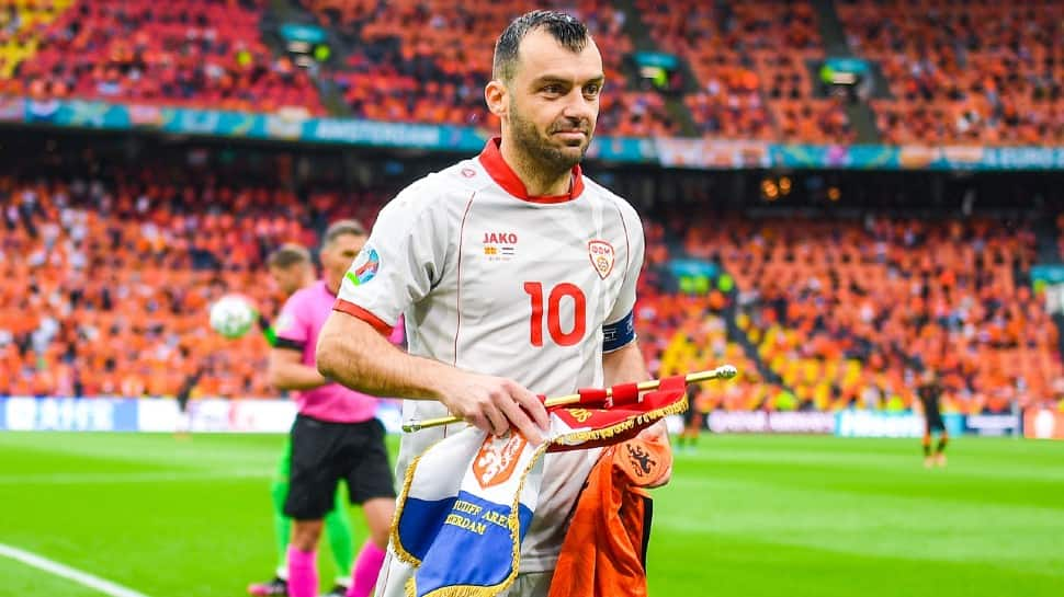 North Macedonian captain Goran Pandev has already announced his retirement from international football after exit from UEFA Euro 2020. (Source: Twitter)