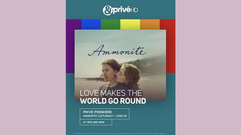 Celebrate Pride Month with privé premiere of 'Ammonite' this Saturday on &PrivéHD