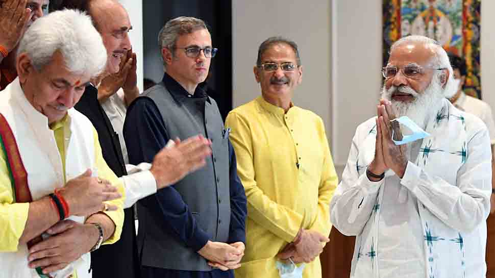 Want to remove 'Dilli ki duri' as well as 'Dil ki duri': PM Narendra Modi to Jammu and Kashmir leaders