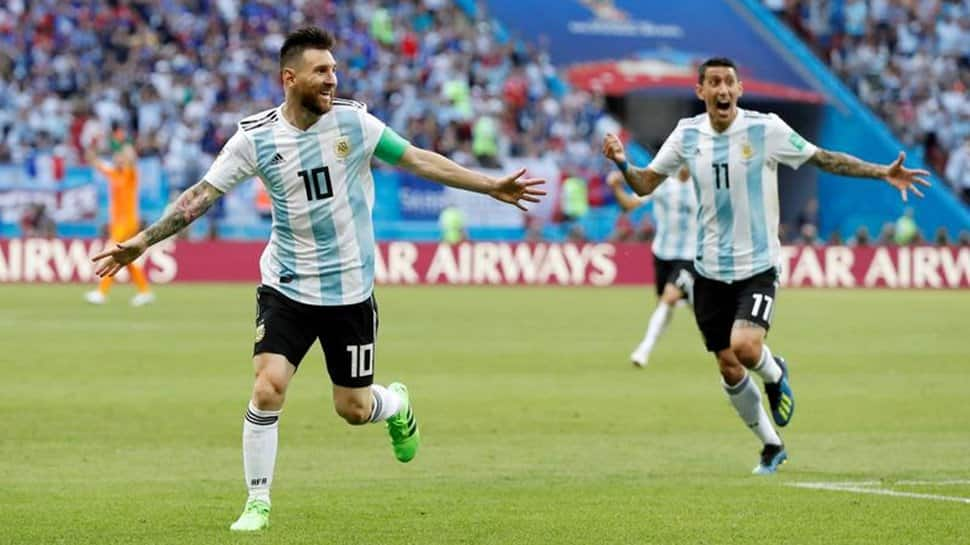 Lionel Messi celebrates 34th birthday, Argentina players surprise Barcelona star with gifts and cake – WATCH