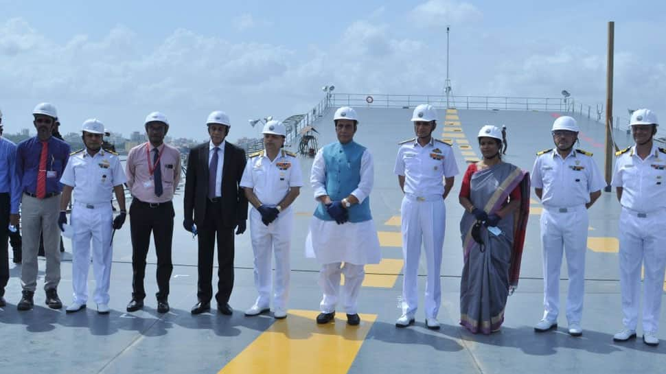 India's 1st indigenous aircraft carrier INS Vikrant to be commissioned next year: Rajnath Singh