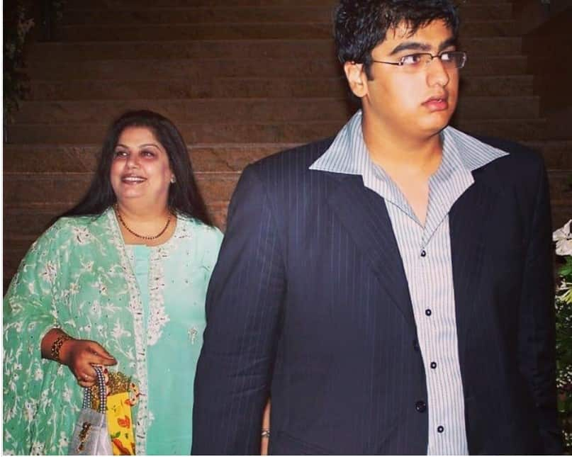 Arjun Kapoor was immensely close to his mother
