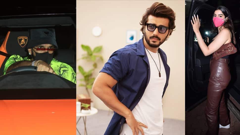 Arjun Kapoor's late-night bday bash brings Ranveer, Ranbir and others under one roof - In Pics
