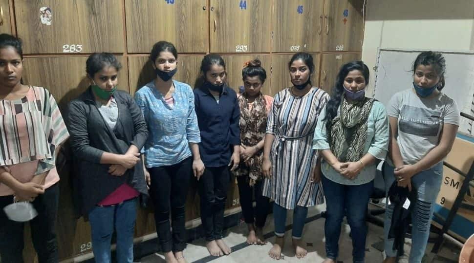 Human trafficking racket busted in Bengaluru, 10 including eight Bangladeshi women held