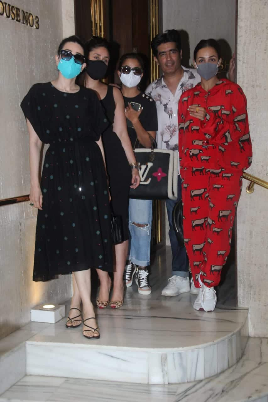The Kapoor and Arora sisters spotted together