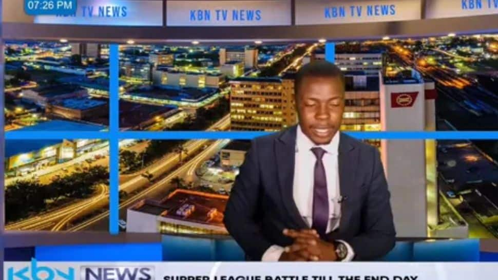 TV anchor interrupts live bulletin to say 'I haven't been paid' - Watch viral video