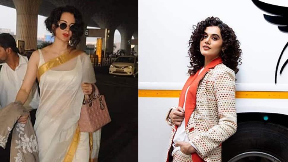 Kangana Ranaut hits back at Taapsee Pannu calling her 'irrelevant', says 'aaj iski aukat dekho'!