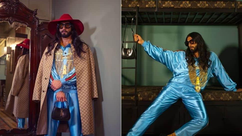 Ranveer Singh's viral Gucci photoshoot kickstarts hilarious meme fest on Twitter!