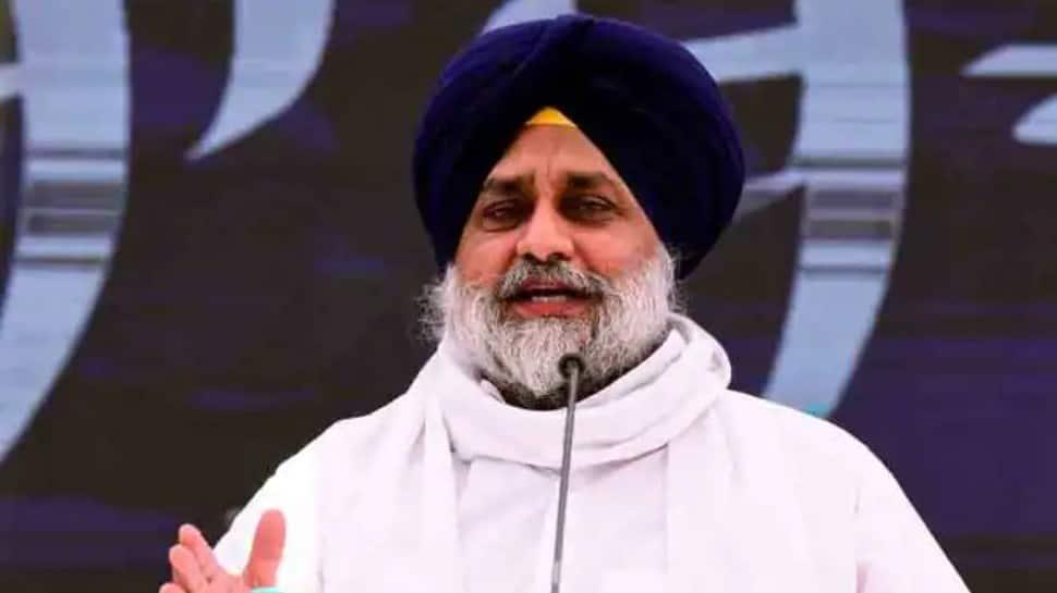 Sukhbir Singh Badal slams Punjab CM over power cuts, announces protest | India News | Zee News