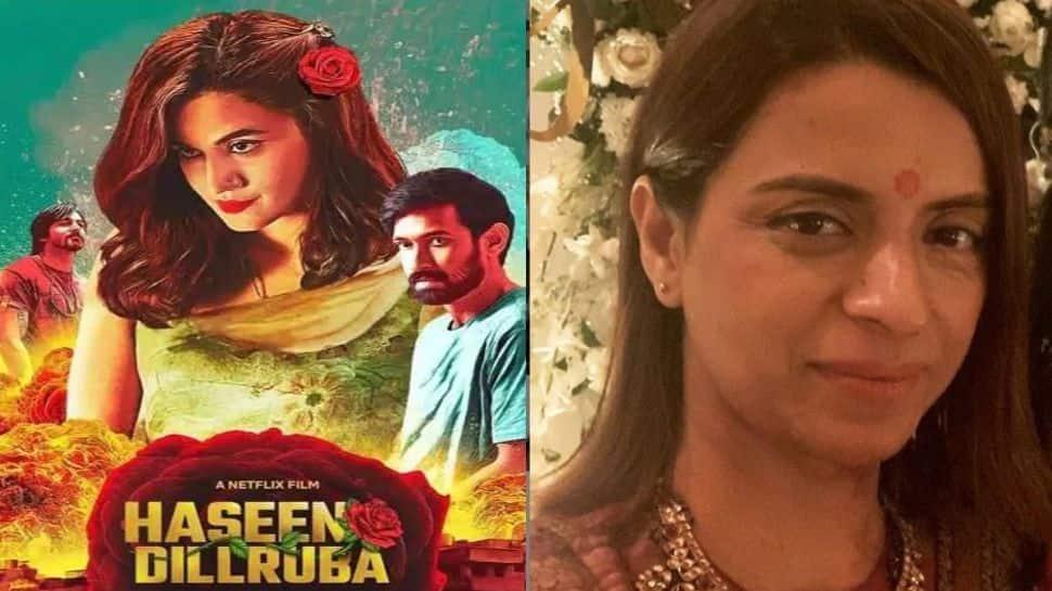Kangana Ranaut's sister Rangoli Chandel criticises Taapsee Pannu's performance in 'Haseen Dillruba', says 'she has no range'