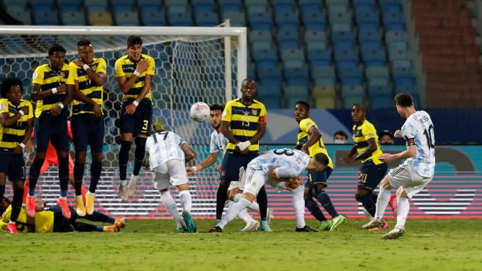 Copa America 2021: Lionel Messi stars as Argentina thrash Ecuador to enter  semis   Football News - newsboys24