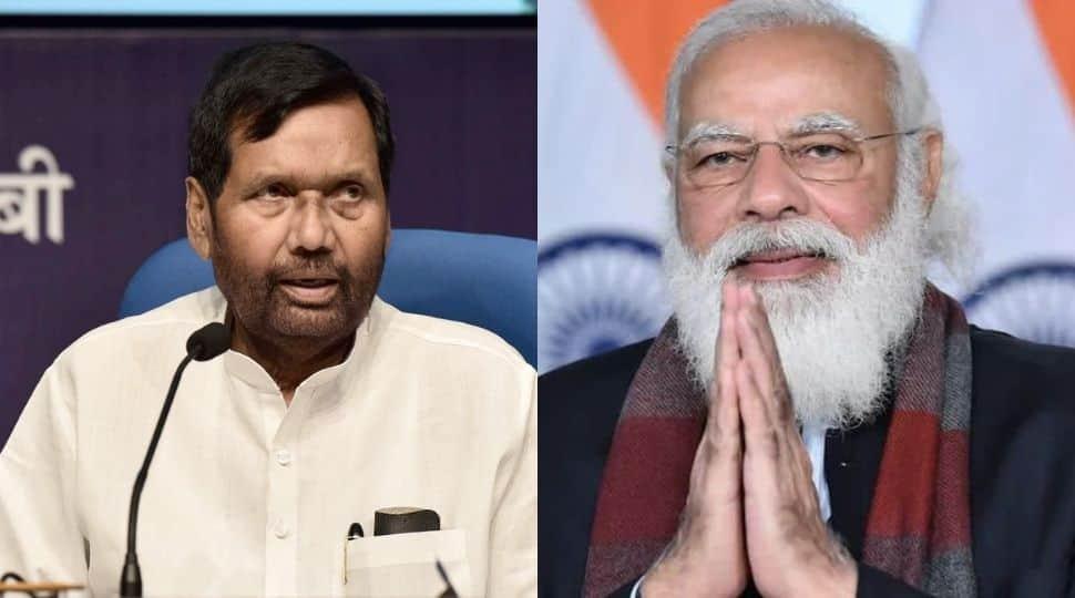 PM Narendra Modi pays tribute to late LJP supremo Ram Vilas Paswan