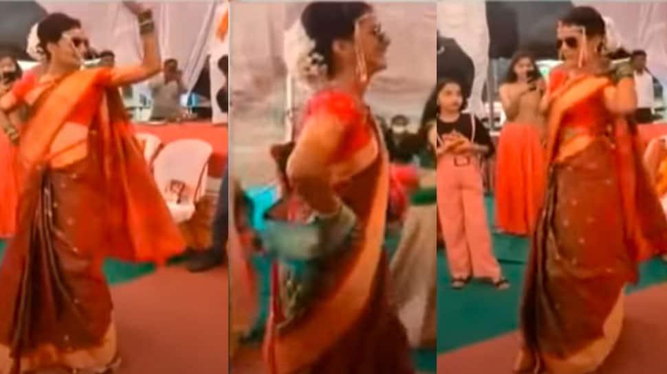 Viral video: This Marathi bride's super dancing entry on Sunny Leone's Mera Saiyaan Superstar song gets baraati grooving  - Watch