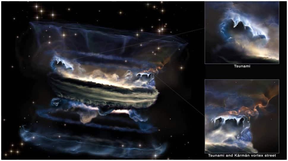 Supermassive black wholes may generate Tsunami in galaxy, says NASA