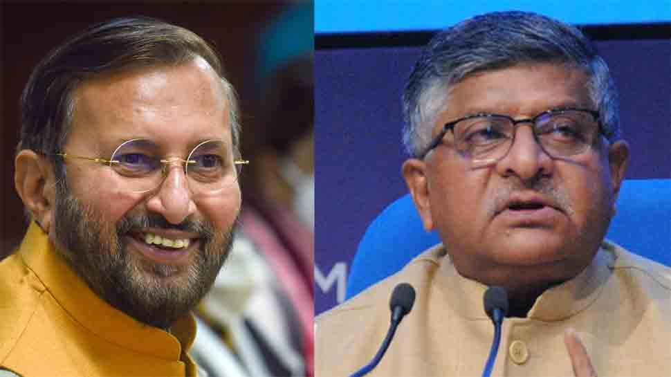 Ravi Shankar Prasad, Prakash Javadekar quit before PM Narendra Modi's  Cabinet reshuffle   India News   Zee News