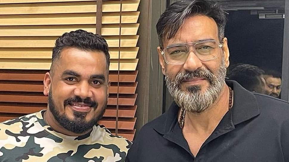 Trending: Ajay Devgn dons a new look, his photos in salt and pepper beard go viral!