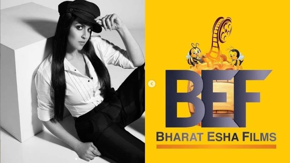 Esha Deol launches production house Bharat Esha Films with husband