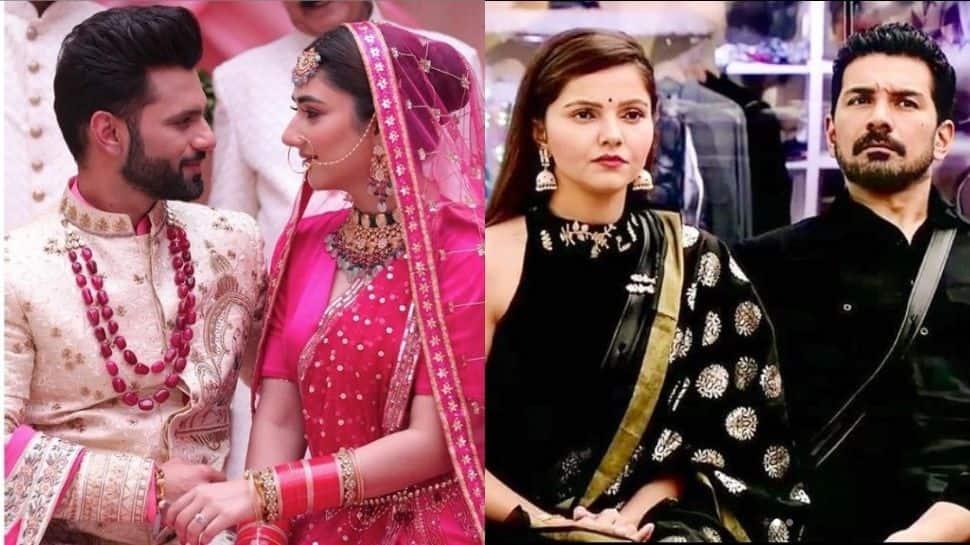 Will Rubina Dilaik and hubby Abhinav Shukla attend Rahul Vaidya-Disha Parmar's wedding?