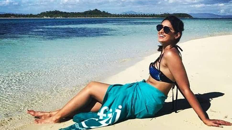 Ileana D'Cruz stuns in yellow bikini, flaunts her tan lines from the beach - In Pics