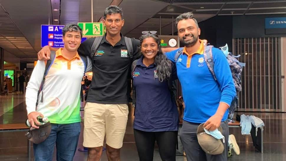 Olympics: Sailing team are first from India to land in Tokyo for Games