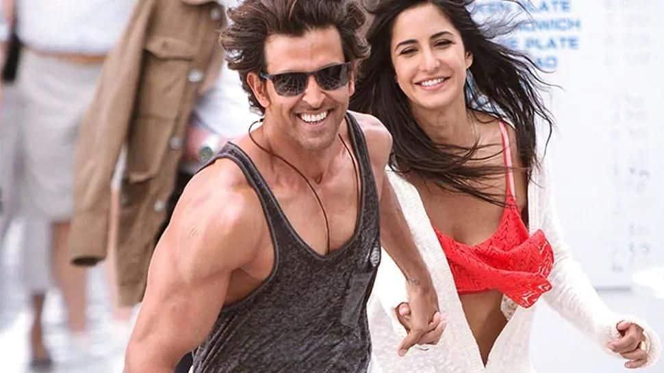 Katrina and Hrithik Roshan
