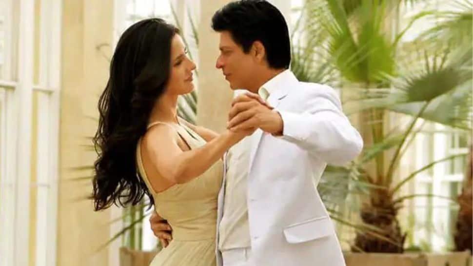 Katrina and Shah Rukh Khan