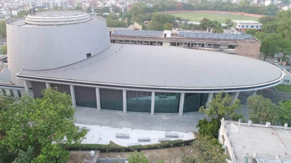 PM Narendra Modi inaugurates 'Rudraksh' convention centre in UP's Varanasi, shares aerial shot of building