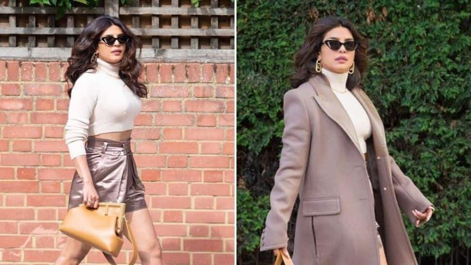 Priyanka Chopra takes over London streets in glam outfit, flaunts stylish Fendi bag! – See pics