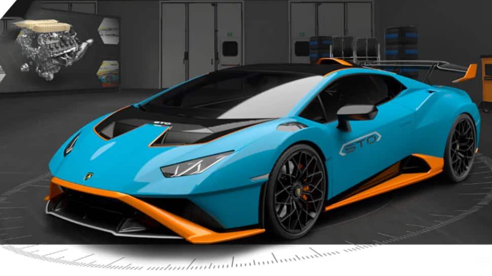 Lamborghini Huracan STO exterior