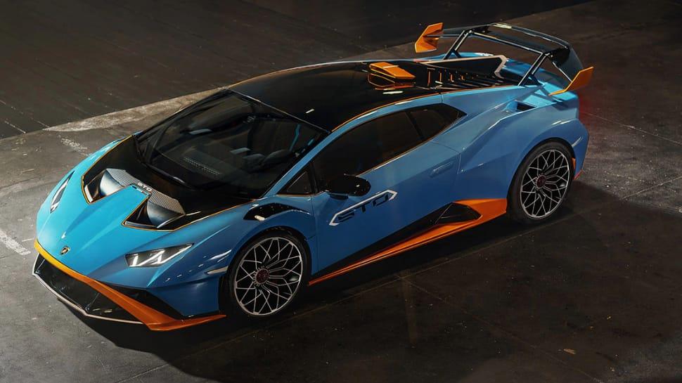 Lamborghini Huracan STO driving modes