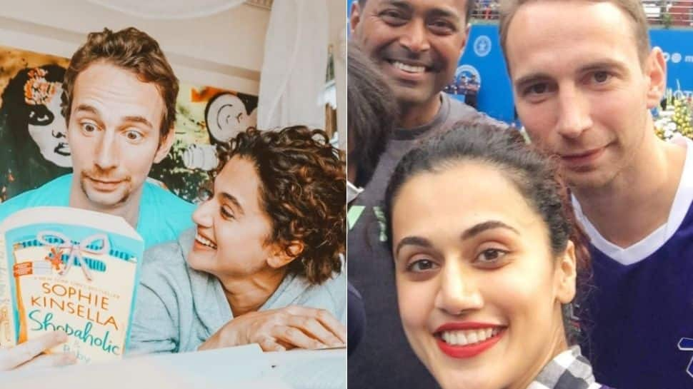 Taapsee Pannu's boyfriend Mathias Boe's witty response to troll's comment wins hearts!
