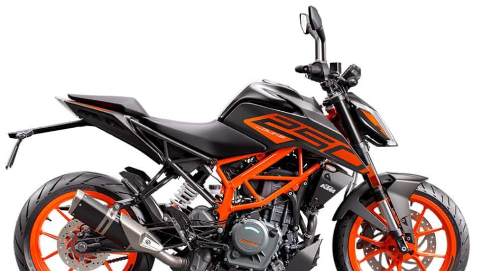 Discounted price of KTM 250 Adventure bike
