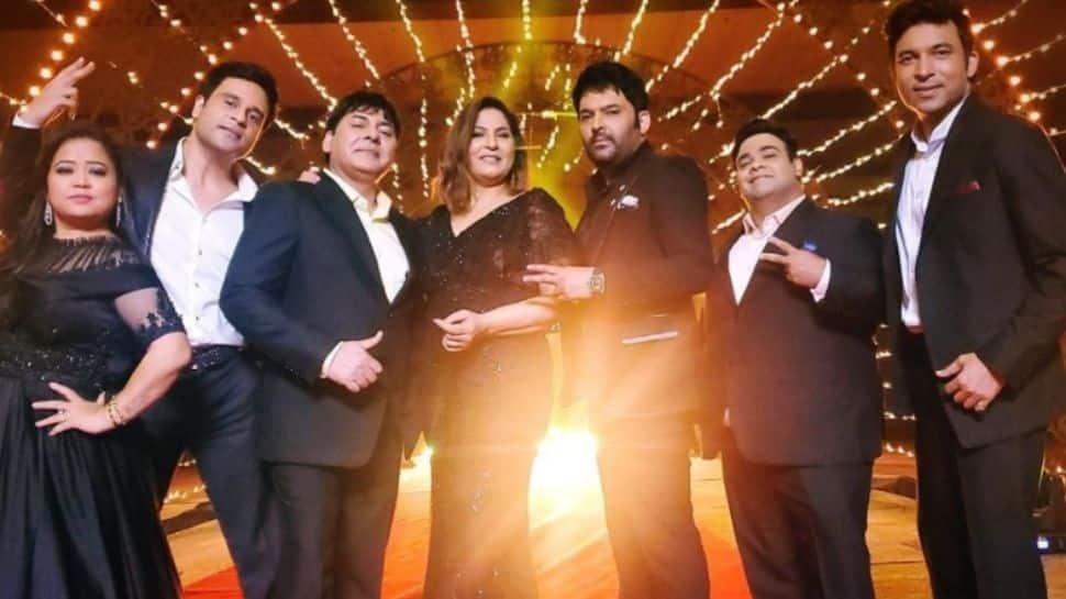 Kapil Sharma teases new season of 'The Kapil Sharma Show', shares reunion pic with Krushna Abhishek, Bharti Singh!