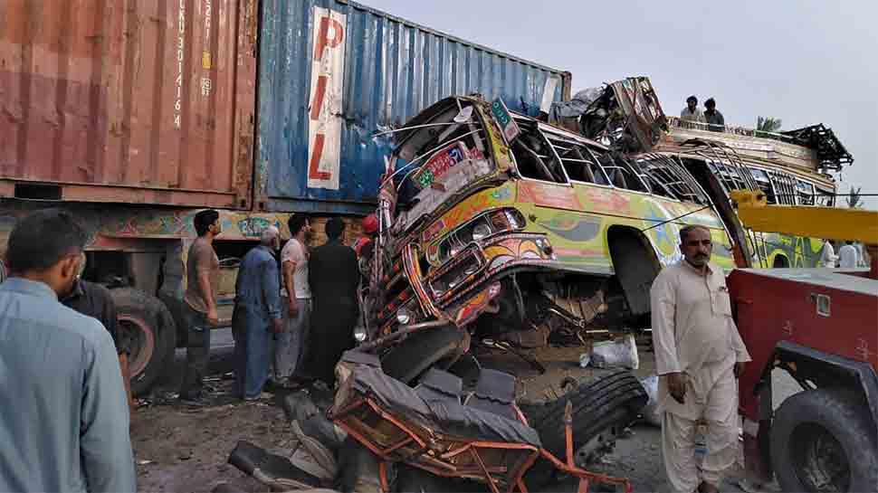 31 killed, over 60 injured ahead of Eid-ul Azha in road accident in Pakistan