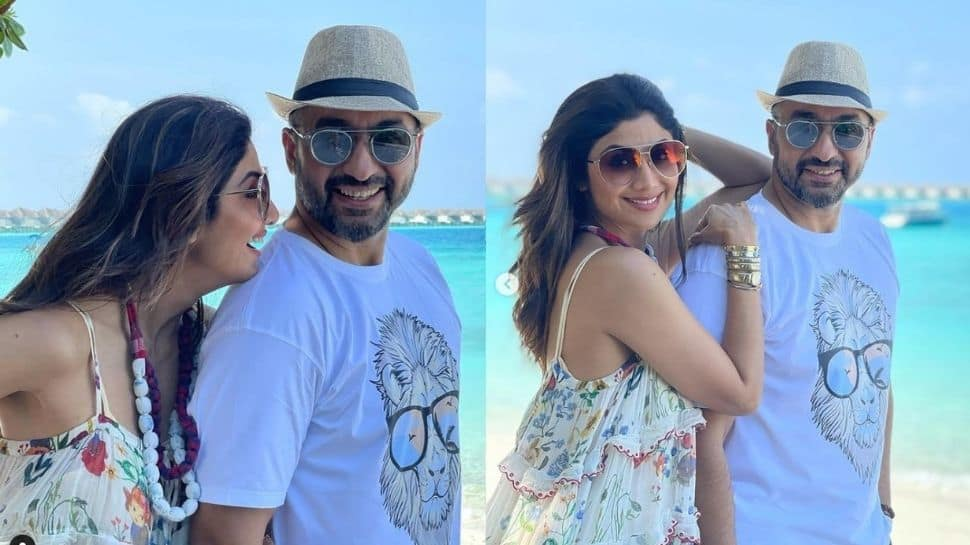 The duo spotted in Maldives!