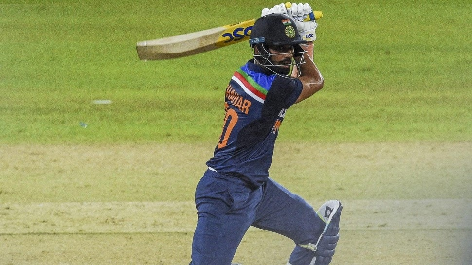 India vs SL 2nd ODI: Deepak Chahar's fifty powers Shikhar Dhawan's side to THIS world record