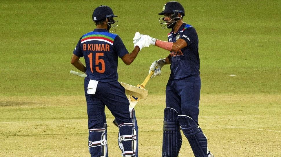 India vs SL 2nd ODI: Deepak Chahar says Rahul Dravid sir's belief in his  batting pushed him to perform   Cricket News   Zee News