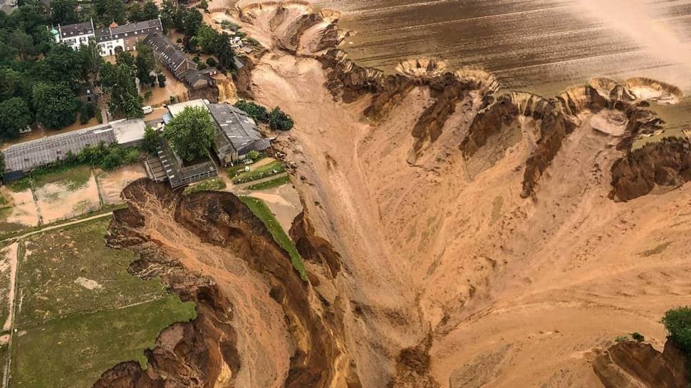 Floods wreck havoc in Germany