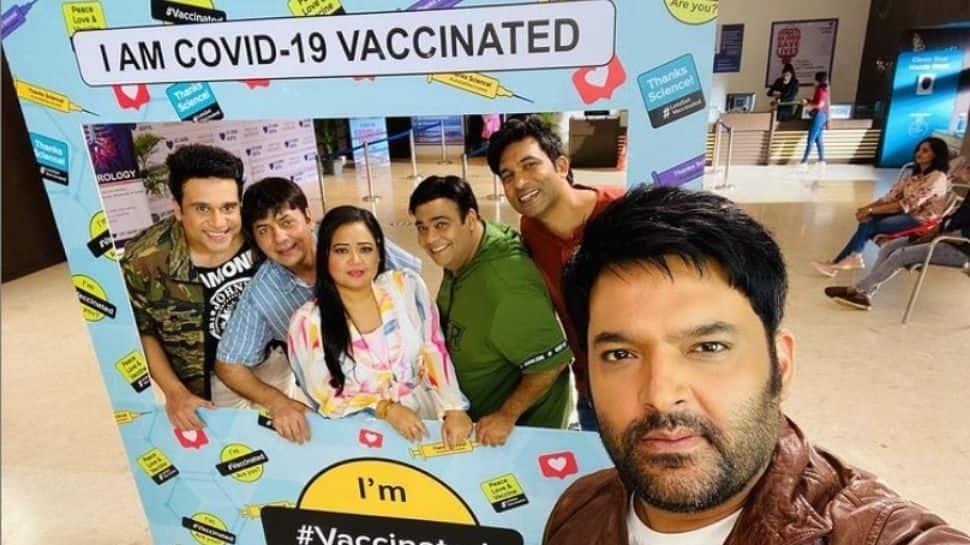 'The Kapil Sharma Show' team receives COVID-19 vaccine