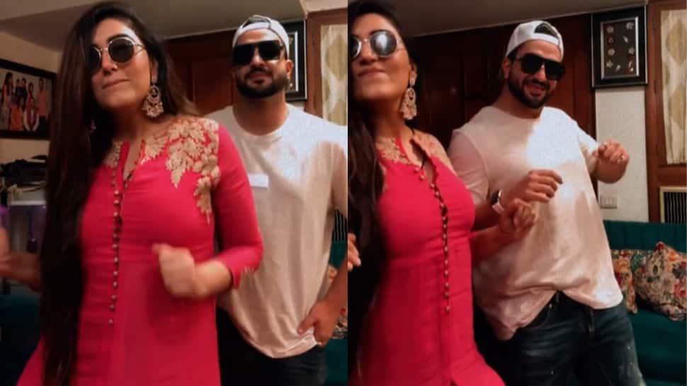 Aly Goni celebrates Eid with Yeh Hai Mohabbatein co-star Shireen Mirza, eats scrumptious food