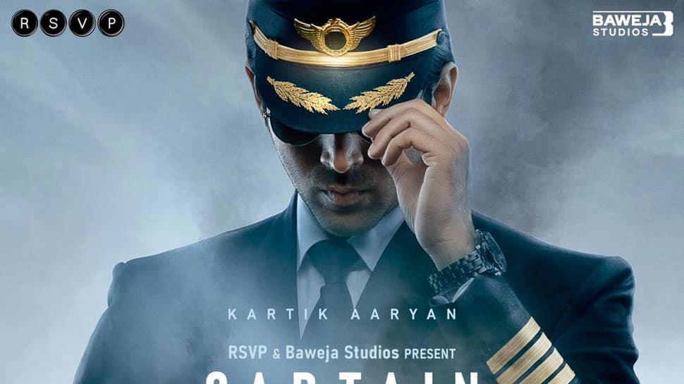 Kartik Aaryan turns pilot in Hansal Mehta's 'Captain India', first look poster hits internet!
