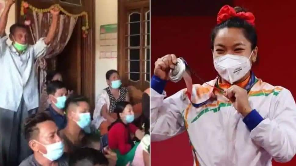 Tokyo Olympics: Reaction of Mirabai Chanu's family goes viral after silver medal win – WATCH