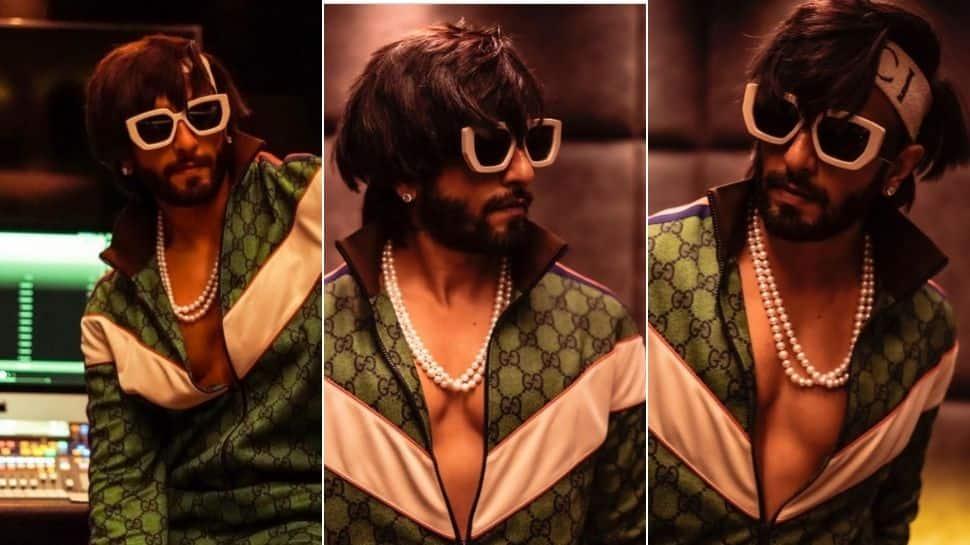 Ranveer Singh oozes style in olive green Gucci tracksuit, Himesh Reshammiya calls it 'historic'!