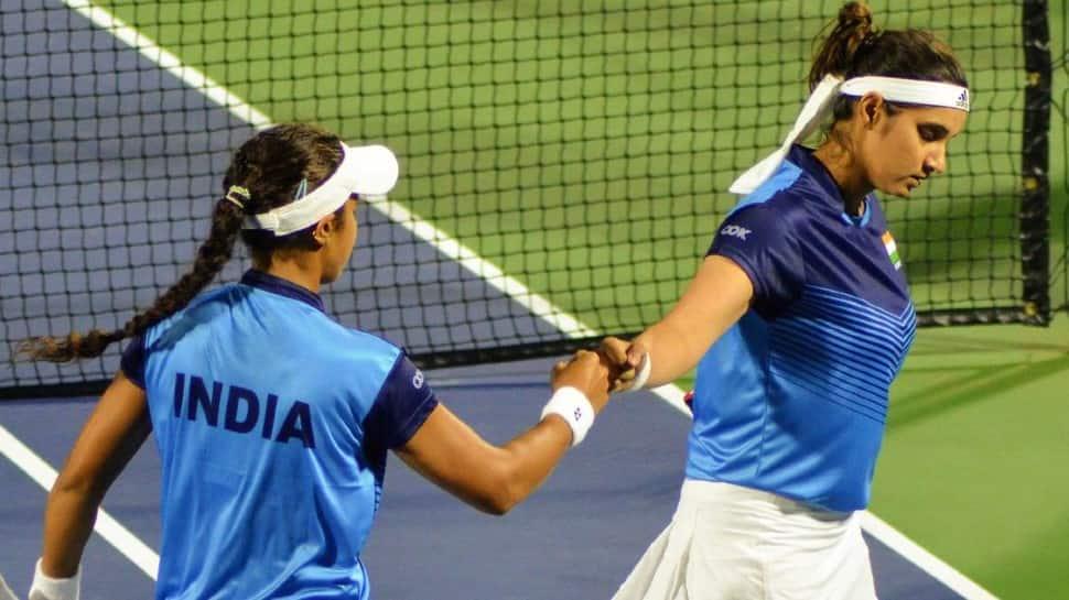 Tokyo Olympics: Shocks galore! Sania Mirza-Ankita Raina pair crash out,  world No. 1 Ashleigh Barty stunned too | Tennis News | Zee News
