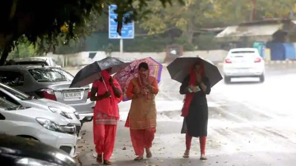 Rain lashes parts of Delhi-NCR, IMD predicts thunderstorms with moderate to heavy rainfall in the capital today