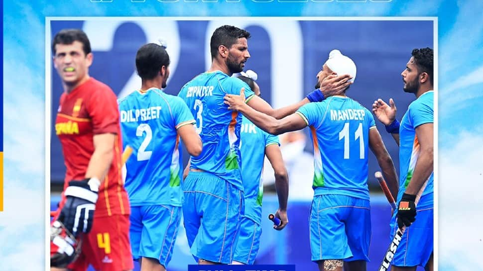 Tokyo Olympics: Rupinderpal Singh scores twice as India beat Spain 3-0 for second win