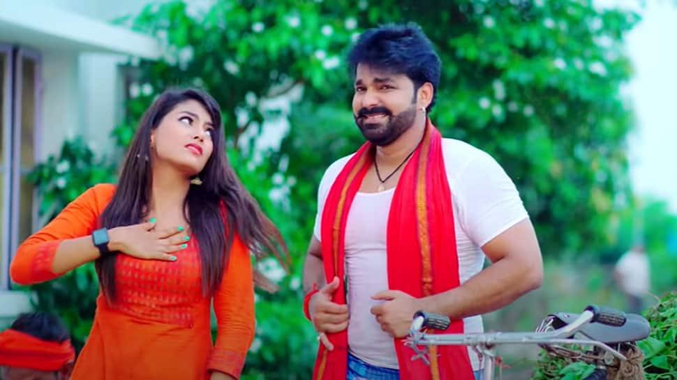 Pawan Singh's latest Bhojpuri 2021 song Pudina Ae Haseena starring Maahi Shrivastav sets YouTube on fire, crosses 100 mn views - Watch